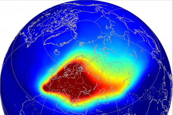 Heatmap of arctic Black Carbon