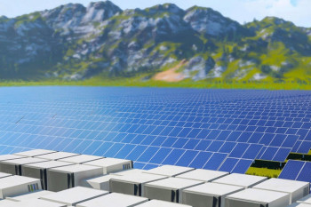 Co-located solar farm and energy storage facility (Primus Power)
